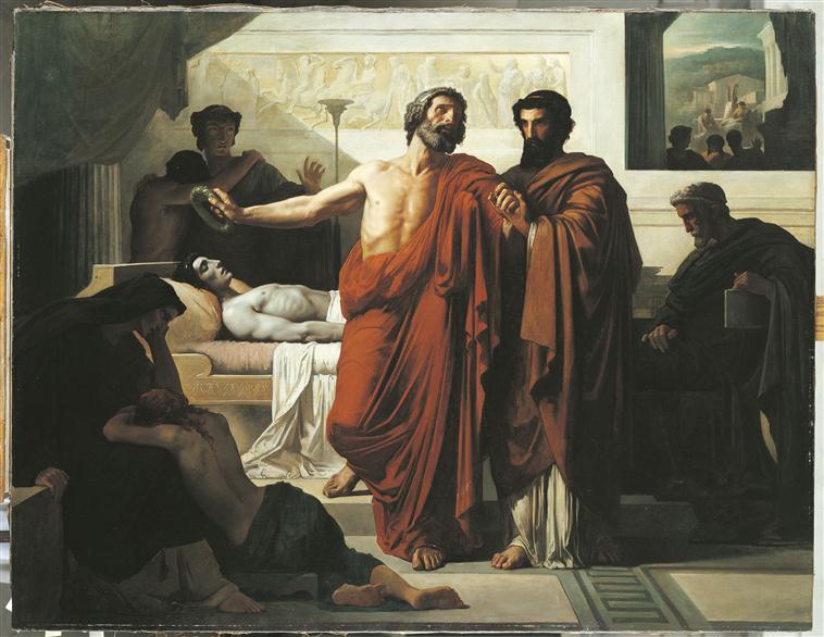 Périclès au lit de mort de son fils_0