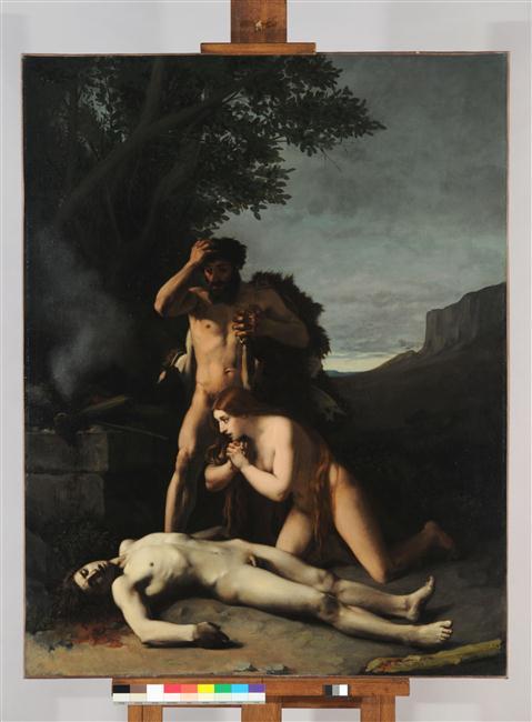 Adam et Eve trouvant le corps d'Abel_0