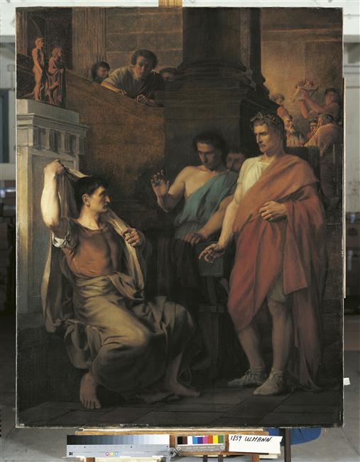 Coriolan chez Tullus, roi des Volsques_0