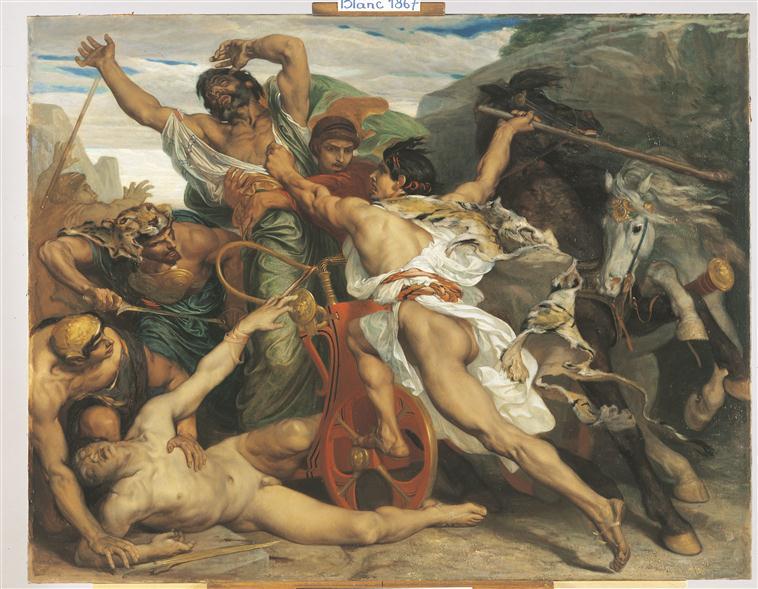 Le meurtre de Laïus par Oedipe_0