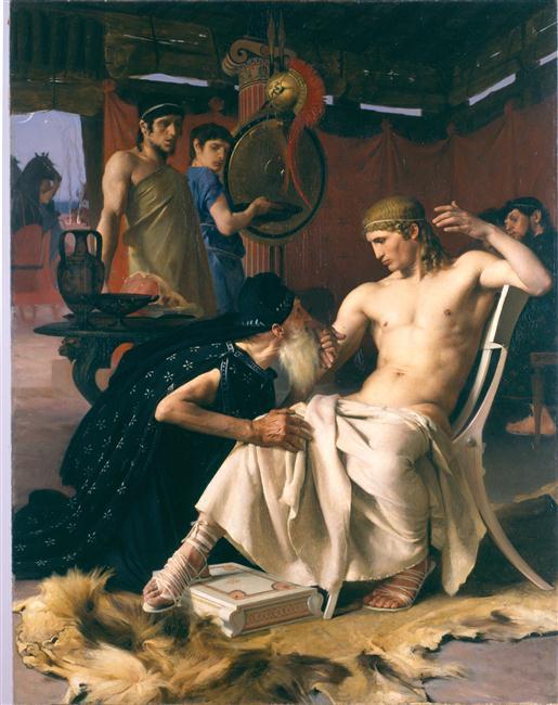 Priam aux pieds d'Achille_0