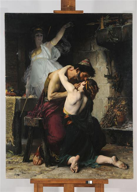 La reconnaissance d'Ulysse et de Télémaque_0