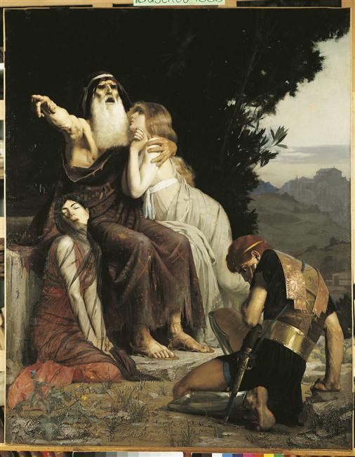 Oedipe maudit son fils Polynice_0