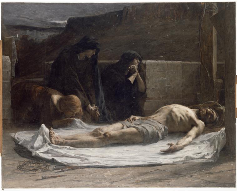 Le Christ mort pleuré par les saintes femmes_0