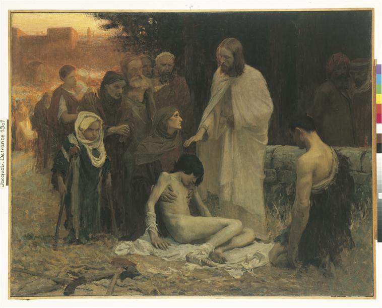 Jésus guérissant les infirmes_0