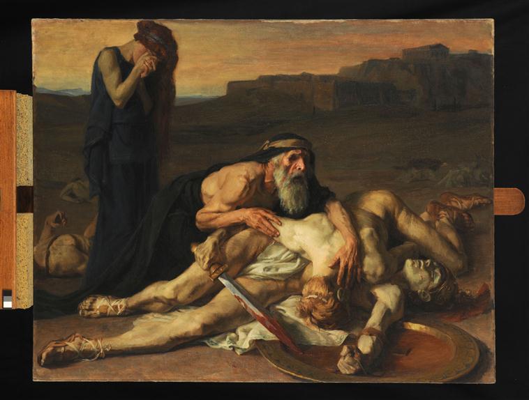Oedipe sur les corps de ses fils_0