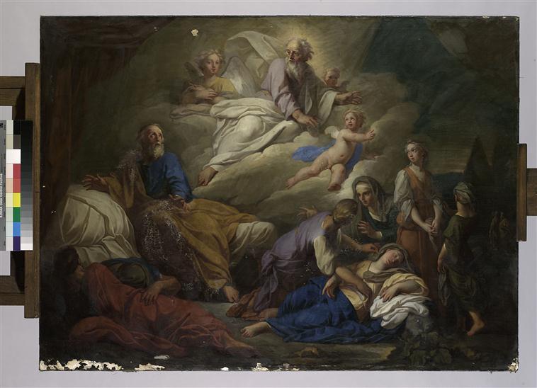 Vision de Jacob en Egypte en allant retrouver son fils Joseph_0