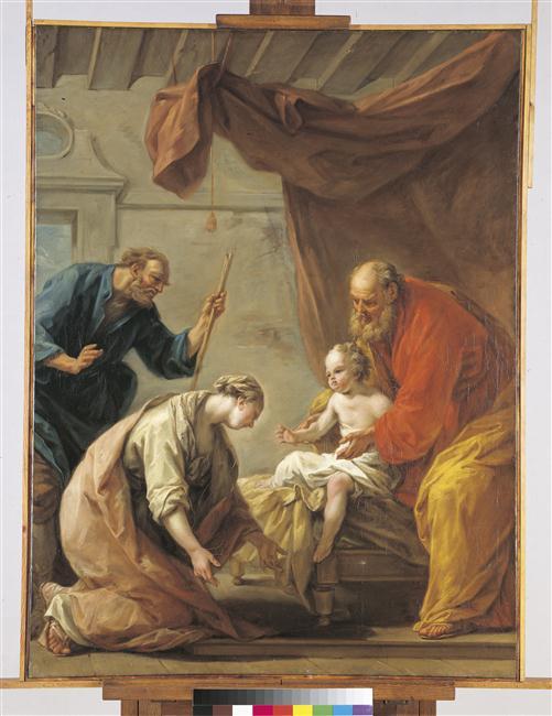 Le Prophète Elie ressuscite le fils de la Sunamite_0