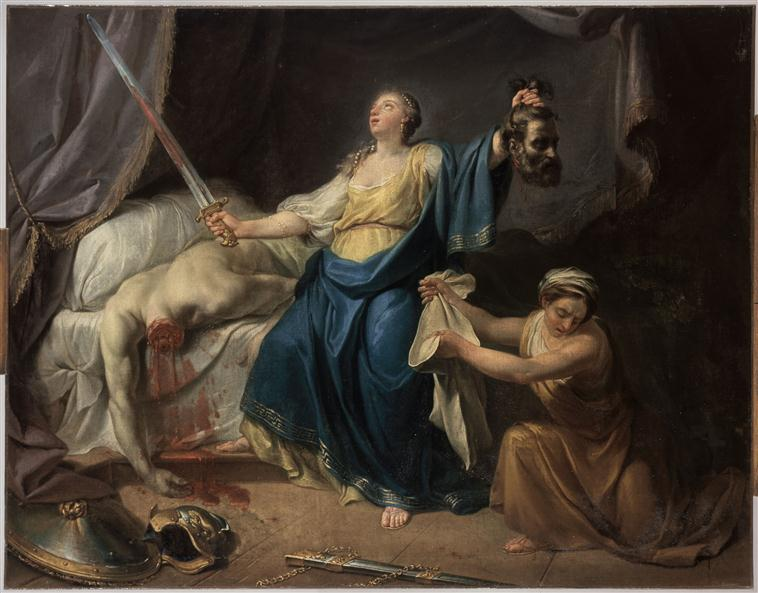 Judith coupe la tête à Holopherne_0