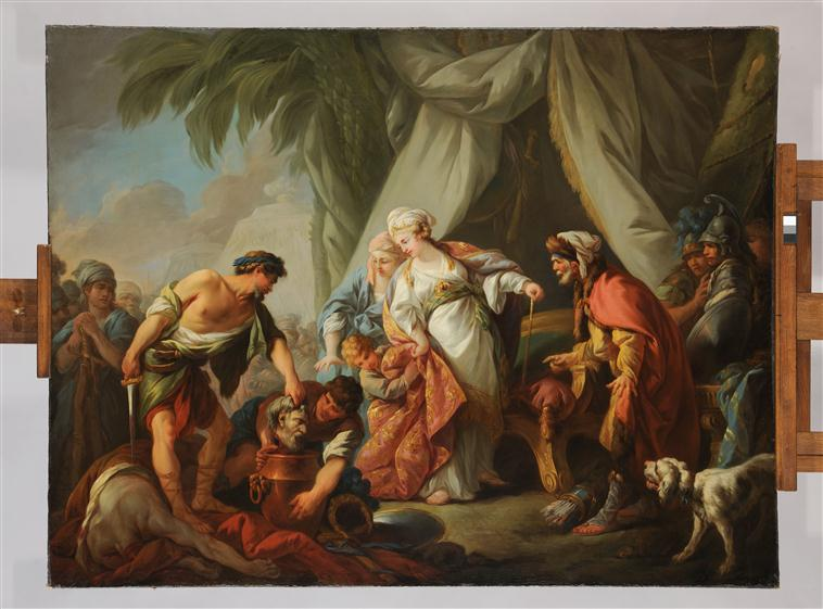 Thomyris, reine des Massagètes fait plonger la tête de Cyrus dans un vase plein de sang_0