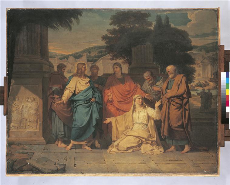 La Chananéenne aux pieds de Jésus-Christ_0