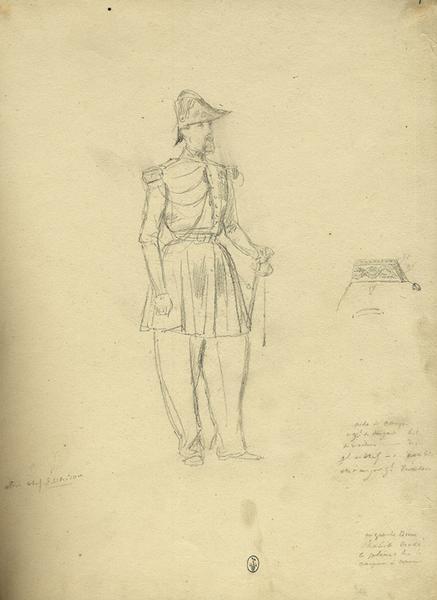 Aide camp de général de brigade ; Siège de Rome de 1849 (en 3 tomes)_0