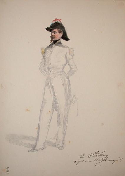 C. Vertray capitaine d'Etat-major ; Siège de Rome de 1849 (en 3 tomes)_0