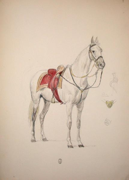 Cheval ; Siège de Rome de 1849 (en 3 tomes)_0
