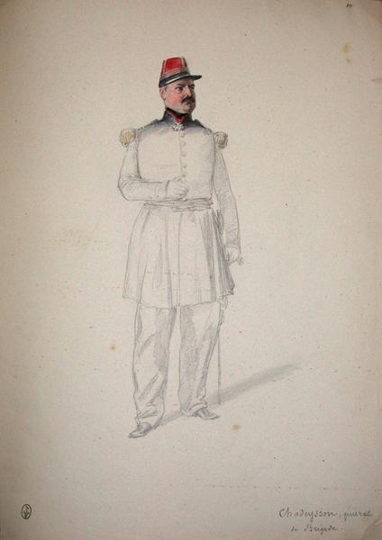 Chadeysson, général de brigade ; Siège de Rome de 1849 (en 3 tomes)_0