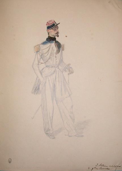 J. Andrieu, aide de camp du général de Rostolan ; Siège de Rome de 1849 (en 3 tomes)_0