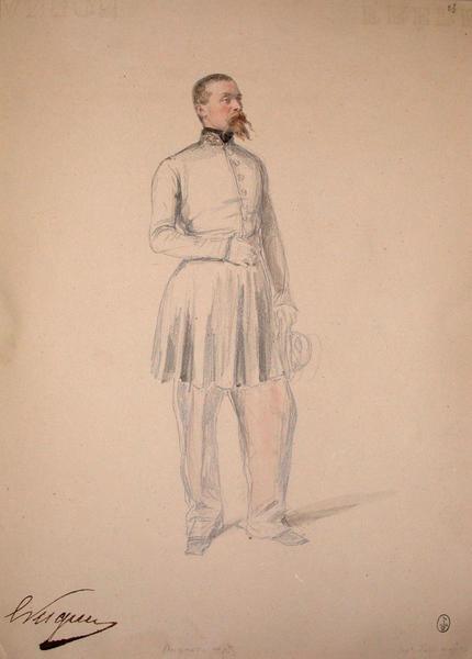 Hugues capitaine d'Etat-major ; Siège de Rome de 1849 (en 3 tomes)