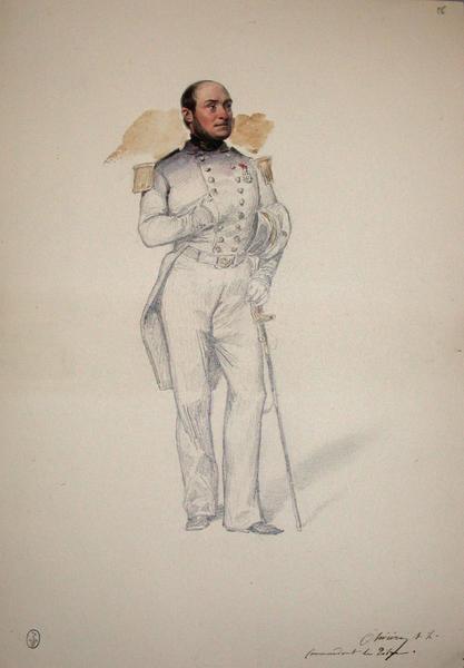 Commandant le Tibre ; Siège de Rome de 1849 (en 3 tomes)_0