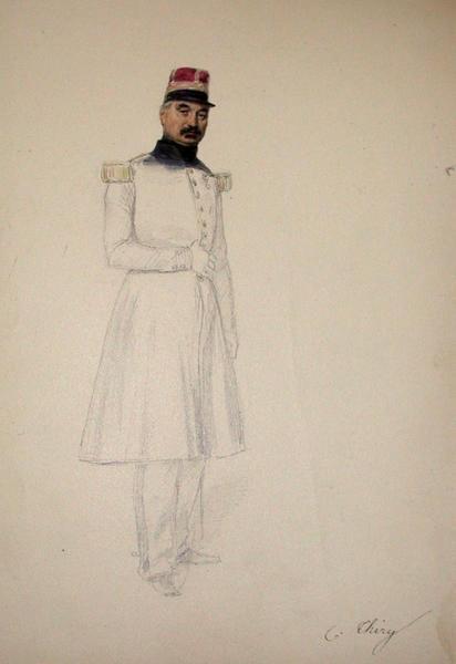 C. Thiry ; Siège de Rome de 1849 (en 3 tomes)_0