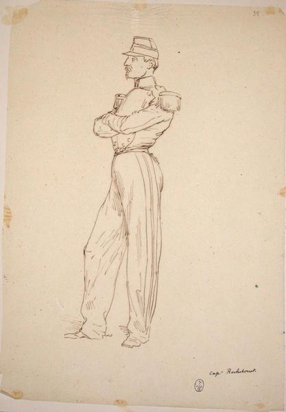 Capitaine Rochebouet ; Siège de Rome de 1849 (en 3 tomes)_0