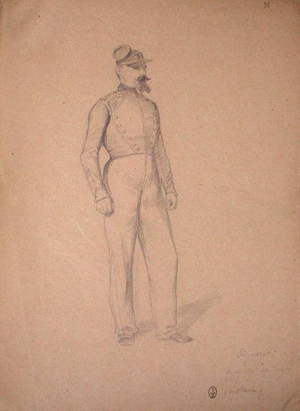Signoret, maréchal des logis chef (artillerie) ; Siège de Rome de 1849 (en 3 tomes)_0