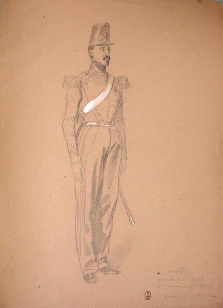Mailho, maréchal des logis ; Siège de Rome de 1849 (en 3 tomes)_0