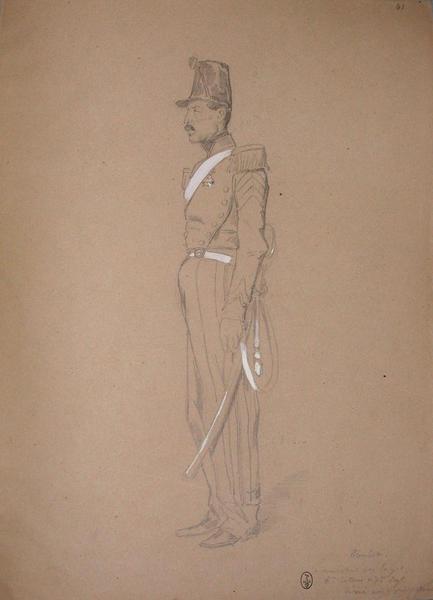 Coulet, maréchal des logis, 6ème batterie du 7ème régiment, décoré après la prise de Rome ; Siège de Rome de 1849 (en 3 tomes)_0