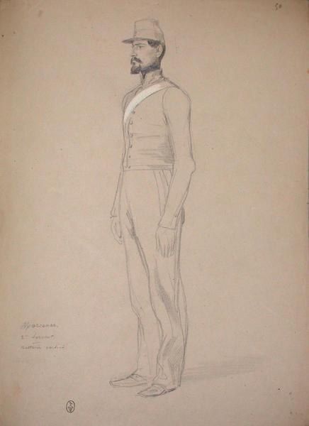 Marcenac 2ème servant, Batterie Corsini ; Siège de Rome de 1849 (en 3 tomes)_0