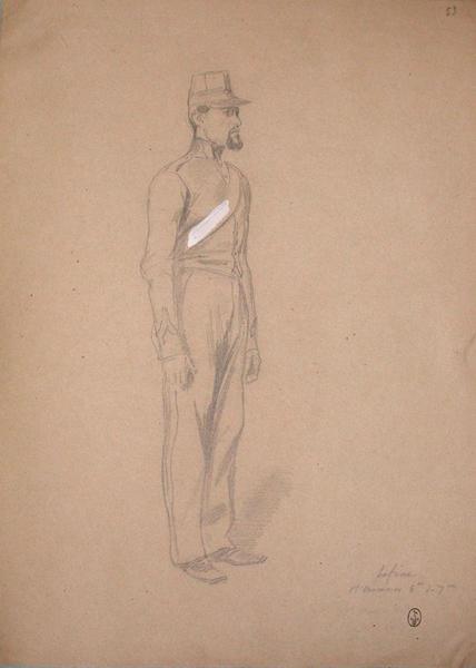Lefèvre, 1er canonier, 6éme du 7éme ; Siège de Rome de 1849 (en 3 tomes)_0
