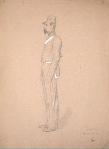 Boucherant, servant, 6ème du 7ème ; Siège de Rome de 1849 (en 3 tomes)_0