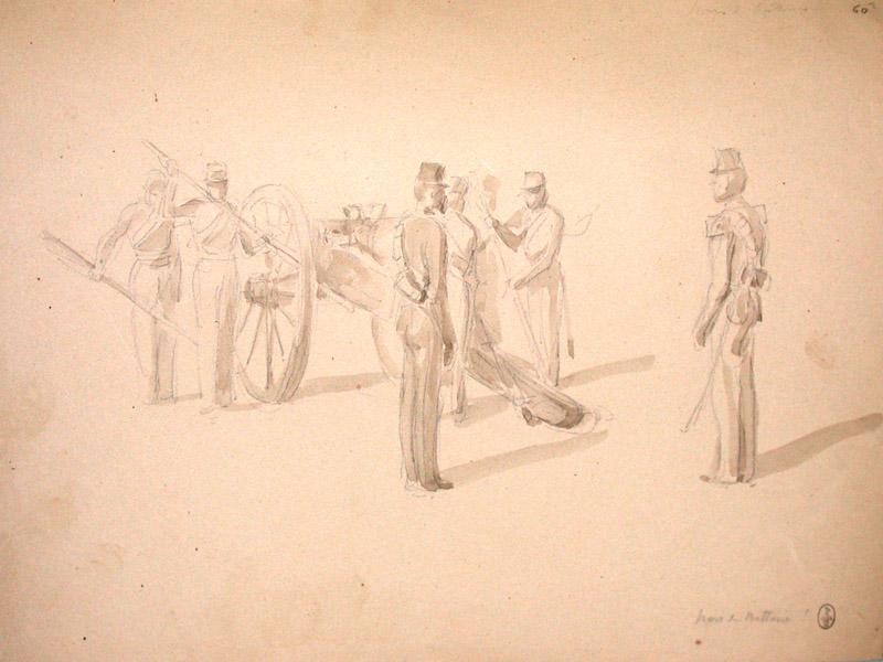 Hors de batterie ; Siège de Rome de 1849 (en 3 tomes)