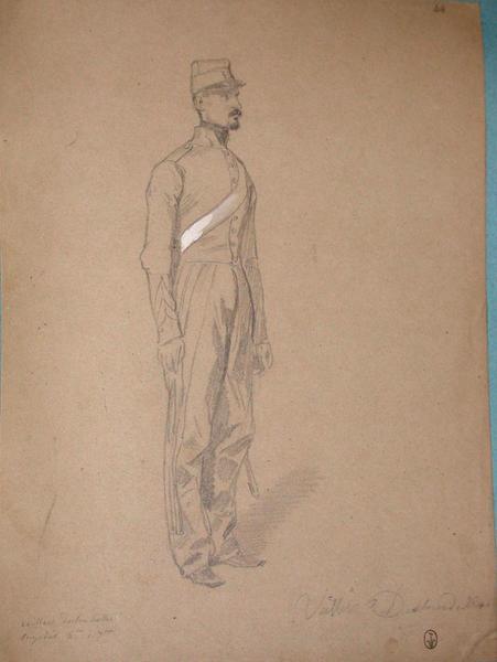 Veillen Deslourdelles, brigadier 6ème du 7ème ; Siège de Rome de 1849 (en 3 tomes)_0