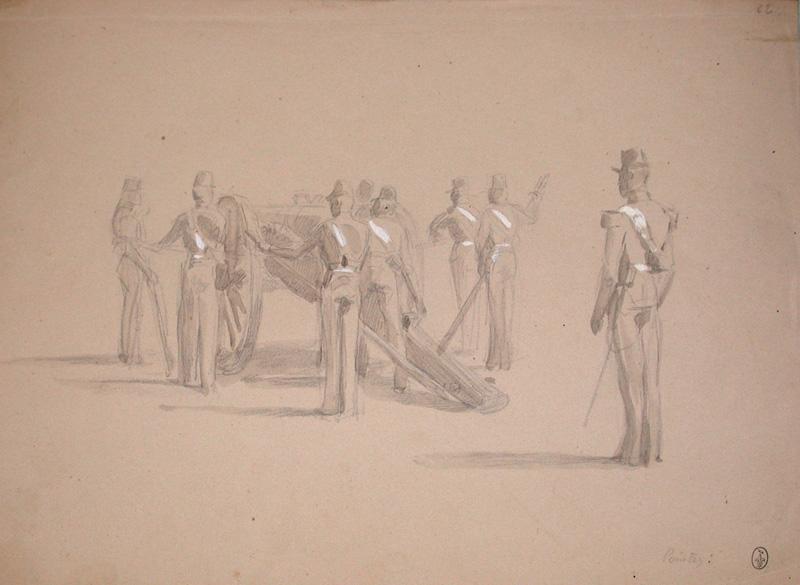 Pointez ! ; Siège de Rome de 1849 (en 3 tomes)_0