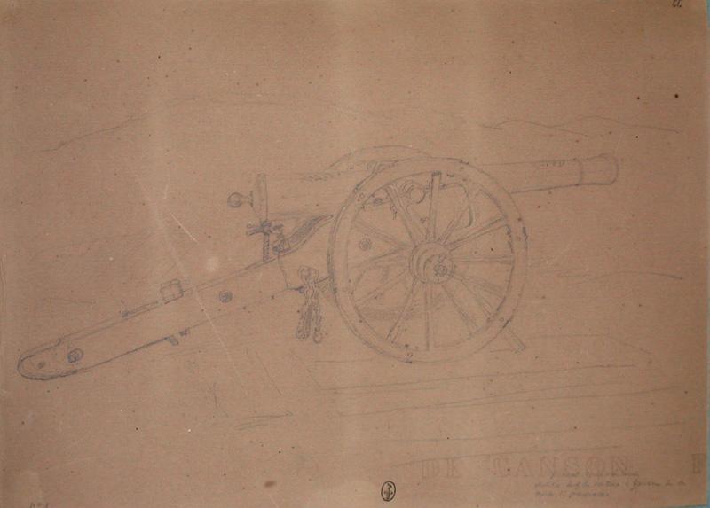 Pièce de position ; Siège de Rome de 1849 (en 3 tomes)_0