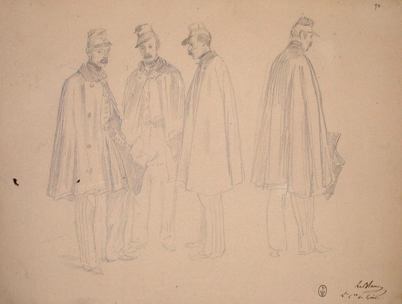Le Blanc lieutenant colonel du Génie ; Siège de Rome de 1849 (en 3 tomes)