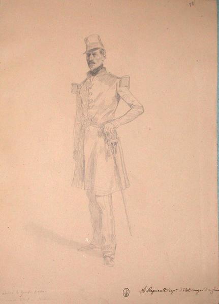 A. Regnault, capitaine d'état-major du Génie ; Siège de Rome de 1849 (en 3 tomes)