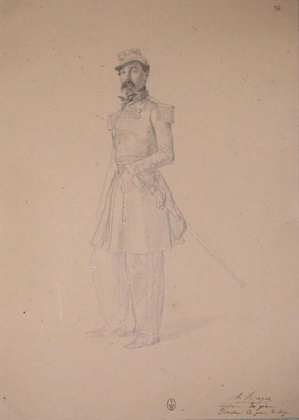 A. Ragon, capitaine du génie, direction du parc de siège ; Siège de Rome de 1849 (en 3 tomes)_0