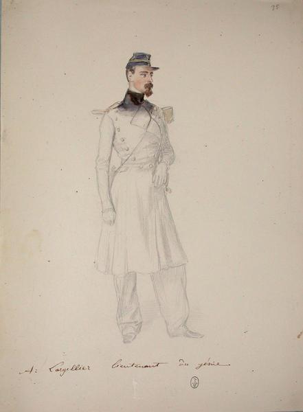 A. Largillier, lieutenant du génie ; Siège de Rome de 1849 (en 3 tomes)_0