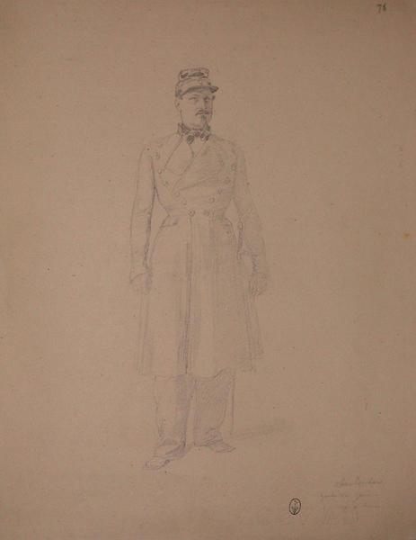 Oberlender, garde du Génie, décoré à Rome ; Siège de Rome de 1849 (en 3 tomes)_0