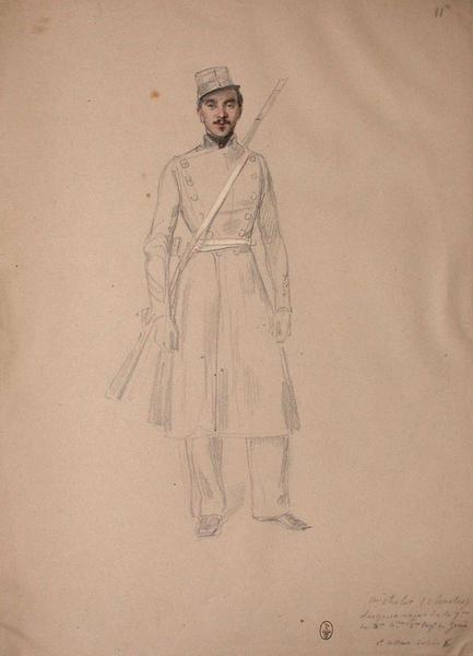 Charles Michelet, sergent major de la 7ème compagnie du 2ème Bataillon du 2ème Régiment du génie. ; Siège de Rome de 1849 (en 3 tomes)_0