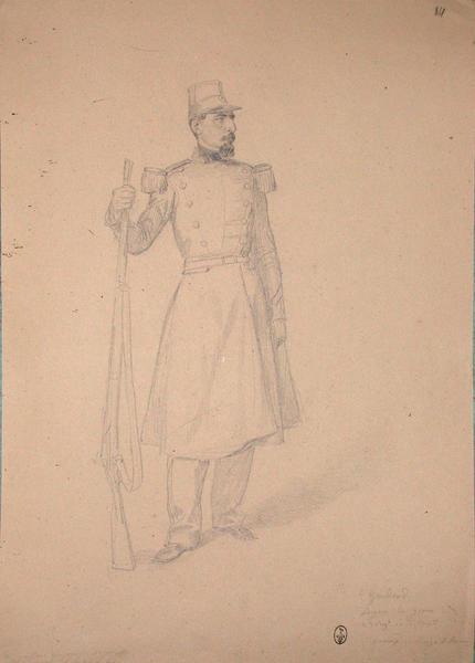 Gondaud, sergent du Génie, 2ème régiment de la 3ème compagnie, décoré au siège de Rome ; Siège de Rome de 1849 (en 3 tomes)