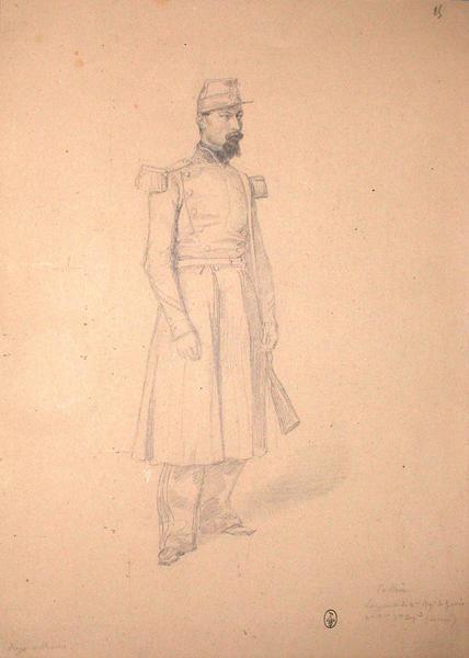 Collin, sergent du 2ème régiment du Génie, 2ème bataillon, 7ème compagnie (décoré) ; Siège de Rome de 1849 (en 3 tomes)_0