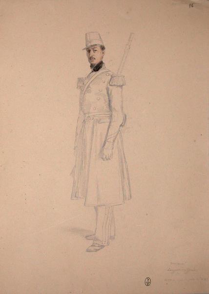 Vincent, sergent du Génie, décoré après le prise de Rome ; Siège de Rome de 1849 (en 3 tomes)
