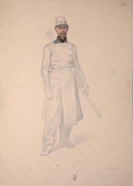 Gratier, soldat du génie, 2e régiment ; Siège de Rome de 1849 (en 3 tomes)