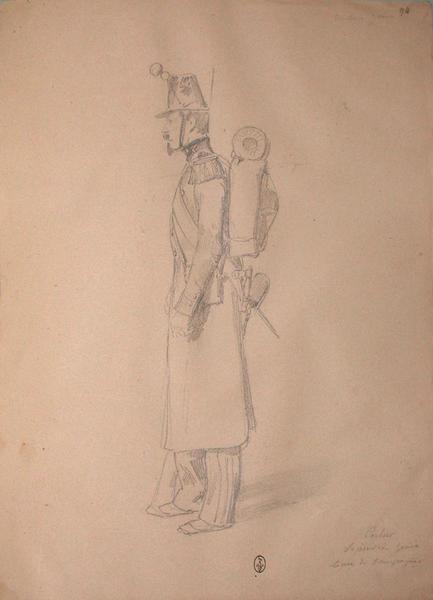 Carlier, sapeur du génie en tenue de campagne ; Siège de Rome de 1849 (en 3 tomes)_0