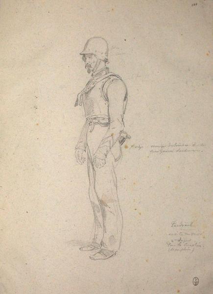 Tardinet, 2e sapeur dans la tranchée ; Siège de Rome de 1849 (en 3 tomes)