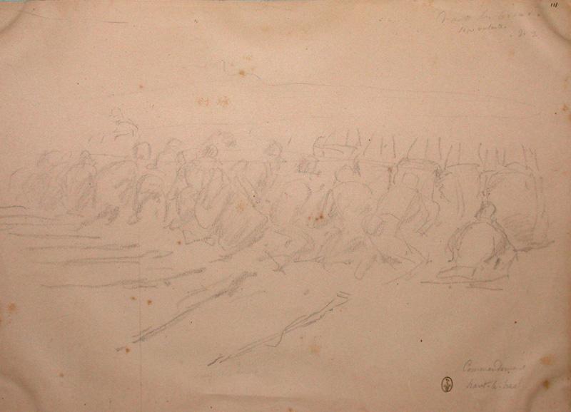 Commandement, haut le bras! ; Siège de Rome de 1849 (en 3 tomes)_0