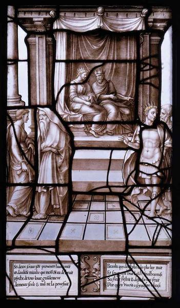 Histoire de Psyché (03) : Le roi et la reine, inquiets du célibat de leur fille, se désolent_0