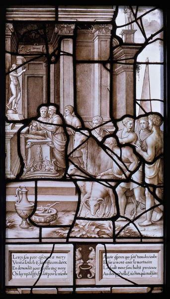 Histoire de Psyché (04) : Croyant avoir offensé les dieux, le roi s'en va consulter l'oracle d'Apollon à Milet_0