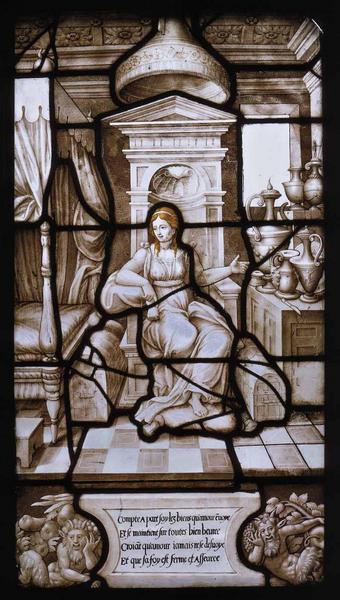 Histoire de Psyché (14) : Psyché seule dans le palais de l'Amour_0